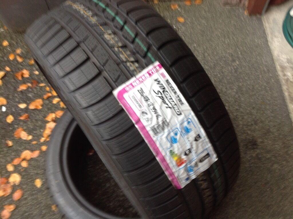 winter tyres new nexen winguard sport 235 40 x 18 extra. Black Bedroom Furniture Sets. Home Design Ideas