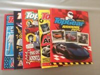 5 x BBC Top Gear Annuals in great condition