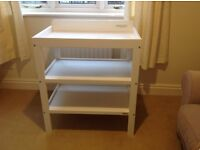 Changing table, white from John Lewis