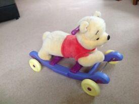 Ride on/rocker Pooh Bear