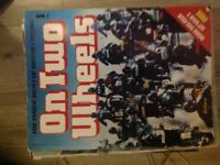 """Set of issues (119 of 120) of """"On Two Wheels"""" The inside story of Motorcycling"""