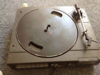 Panasonic SG-X10 Stereo Music System Turntable & Tape Deck With Speakers