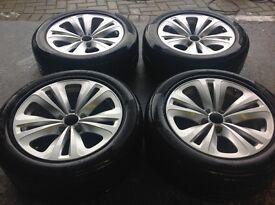 "18"" genuine BMW alloys"