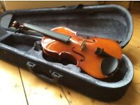 Childs half size violin