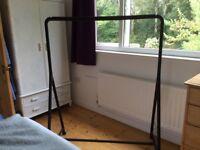 Clothes Rail - IKEA Turbo - black - study - nearly new