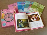 Disney Princess Tales x 5 books & CD