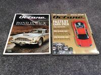 Octane car magazines James Bond Aston Martin, Ferrari Lamborghini Jaguar Bugatti