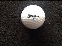 25.SRIXON AD333.GOLFBALLS IN VERY GOOD CONDITION