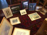 Lot of prints and pictures
