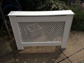 MDf radiator cover in white