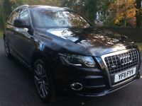 Audi Q5 2.0 tdi Quattro S line 2011 fsh leather sat nav buy for £58 per week
