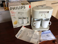 Retro Philips Tea For Two Teasmade, hd5192 lovely condition