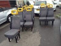 Mini bus seats x12