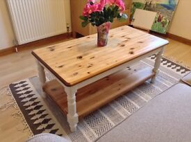 Stunning upcycled coffee table