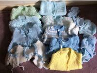 Hand knitted bundle - Newborn to 9 months