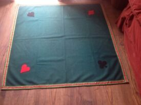 Classic Home Store Bridge & Poker Tablecloth Card and Gaming 89cm Square
