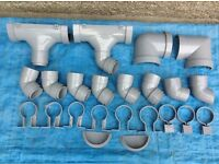 Quantity of OSMA Half round Rainwater fittings