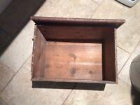 Vintage pine box