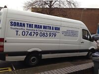 CHEAP VAN WITH MAN