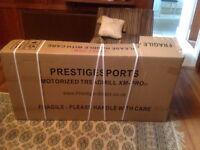 Prestige sports motorised treadmillXM-PRO 111, brand new in box