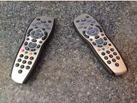 Sky + HD Box TV Remote Controls