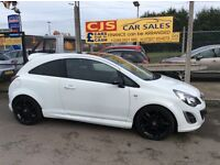Vauxhall corsa limited edition 1.2 sxi 3 door 2013 one owner 40000 fsh mot,d fully serviced mint car