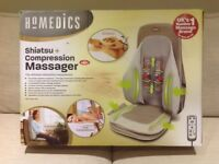 Homedics Shiatsu + Compression Massager with Heat - the ultimate relaxation experience