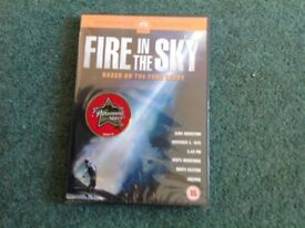 FIRE IN THE SKY DVD BRAND NEW SEALED PACKAGING