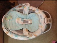 Graco soothing rocker chair for babies, brand new only used once as baby does not like it