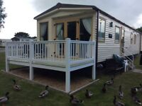 Luxury caravan wild duck holiday park Easter 9th -13th April reduced
