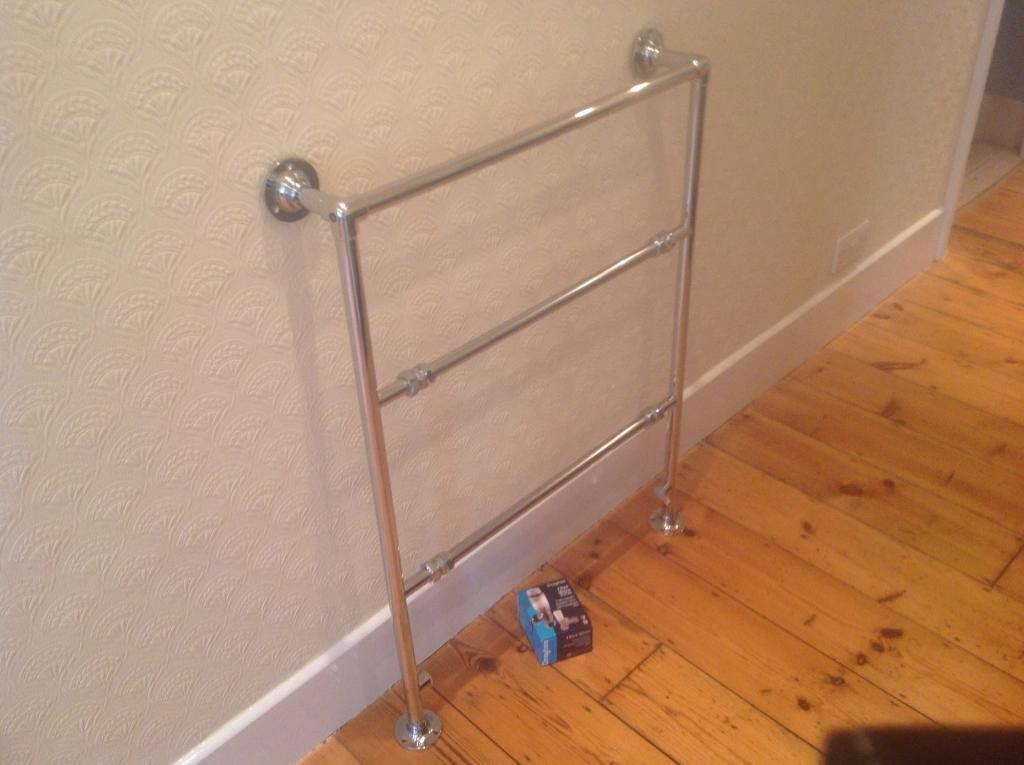Towel rail and TRVs