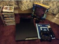 PS3 with many accessories