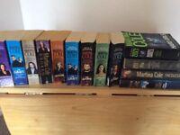 Box of books crime family fiction