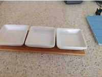 For sale: three GINO D'CAMPO dishes