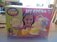 Ice cream maker for kids lets cook range