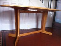 Large Retro Vintage Oval Dining Table Read Description / Can Deliver