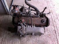 AUDI COUPE QUATTRO ENGINE & BOX 1985 2226cc