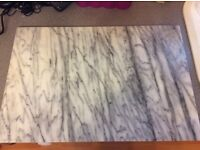 Marble pastry cutting board very large