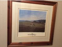 Royal portrush golf club limited edition print. 5th hole