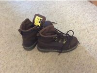 Dr Martin steel toe boots