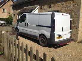 Ex BT van, twin side doors, good condition, roof rack available