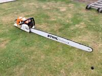 Stihl 084 Chainsaw 4ft Bar & Brand New Chain like MS660 MS880 Saw