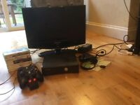 Xbox 360 S Console and Tv bundle