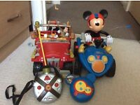 Kids Mickey Mouse remote control vehicles