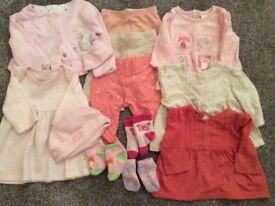baby clothes bundle up to 1 month in size,,reduced