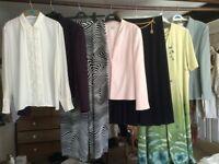 150 items of Jacques Vert, Viyella, Feminella, Bianca, Country Casuals etc.