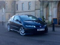 Tuned Honda Civic Type R with well below average miles