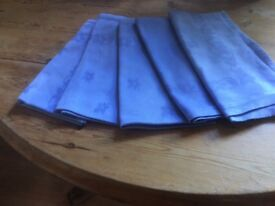 Ex restaurant good quality light blue napkins