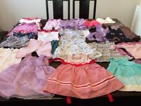 Baby girl clothes approximately 75 items