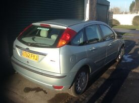 Ford Focus Ghia 1.8 Ghia Diesel. Mot Service history Full Leather. Great car